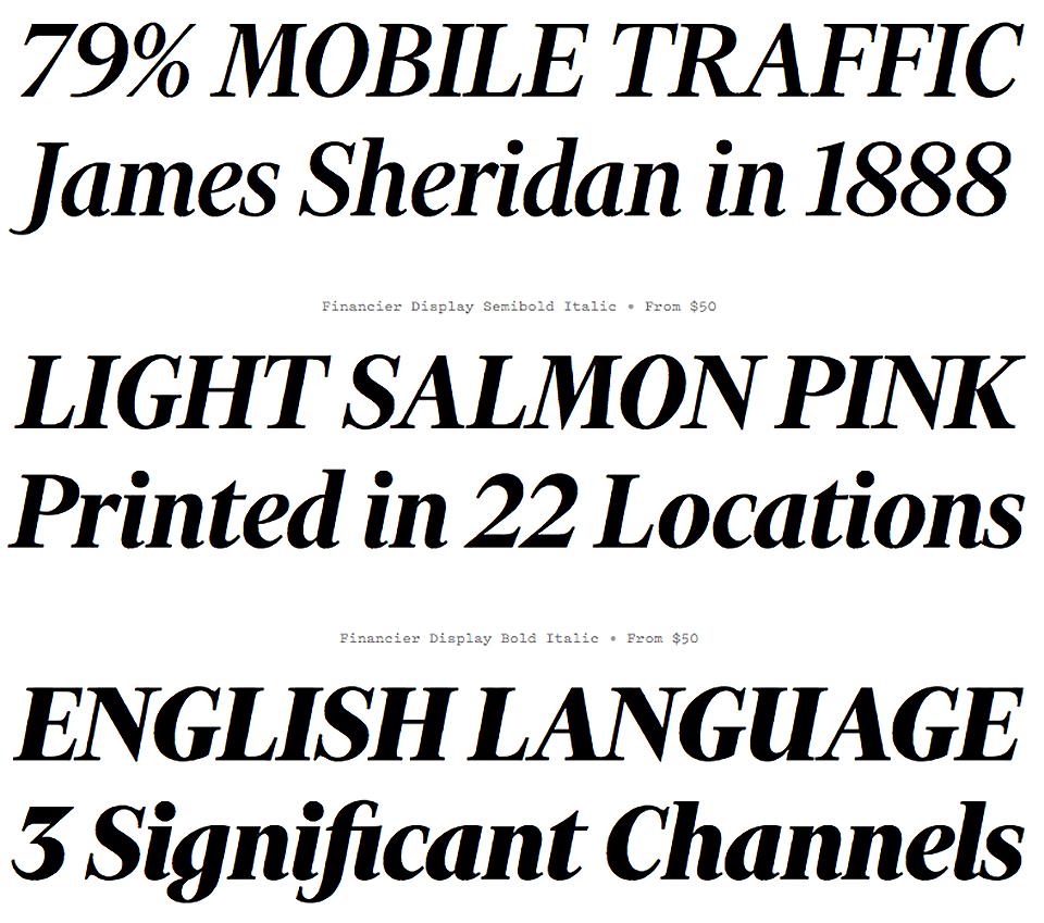 ¿Cómo es Financier, la nueva tipografía del Financial Times? - 5