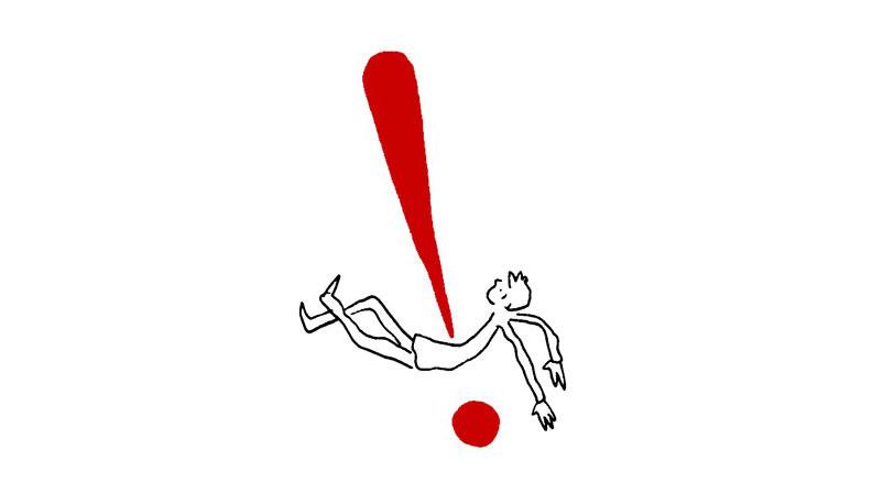 ¿Qué relación tiene el hombre con los signos de puntuación? Grant Snider nos lo ilustra - 3