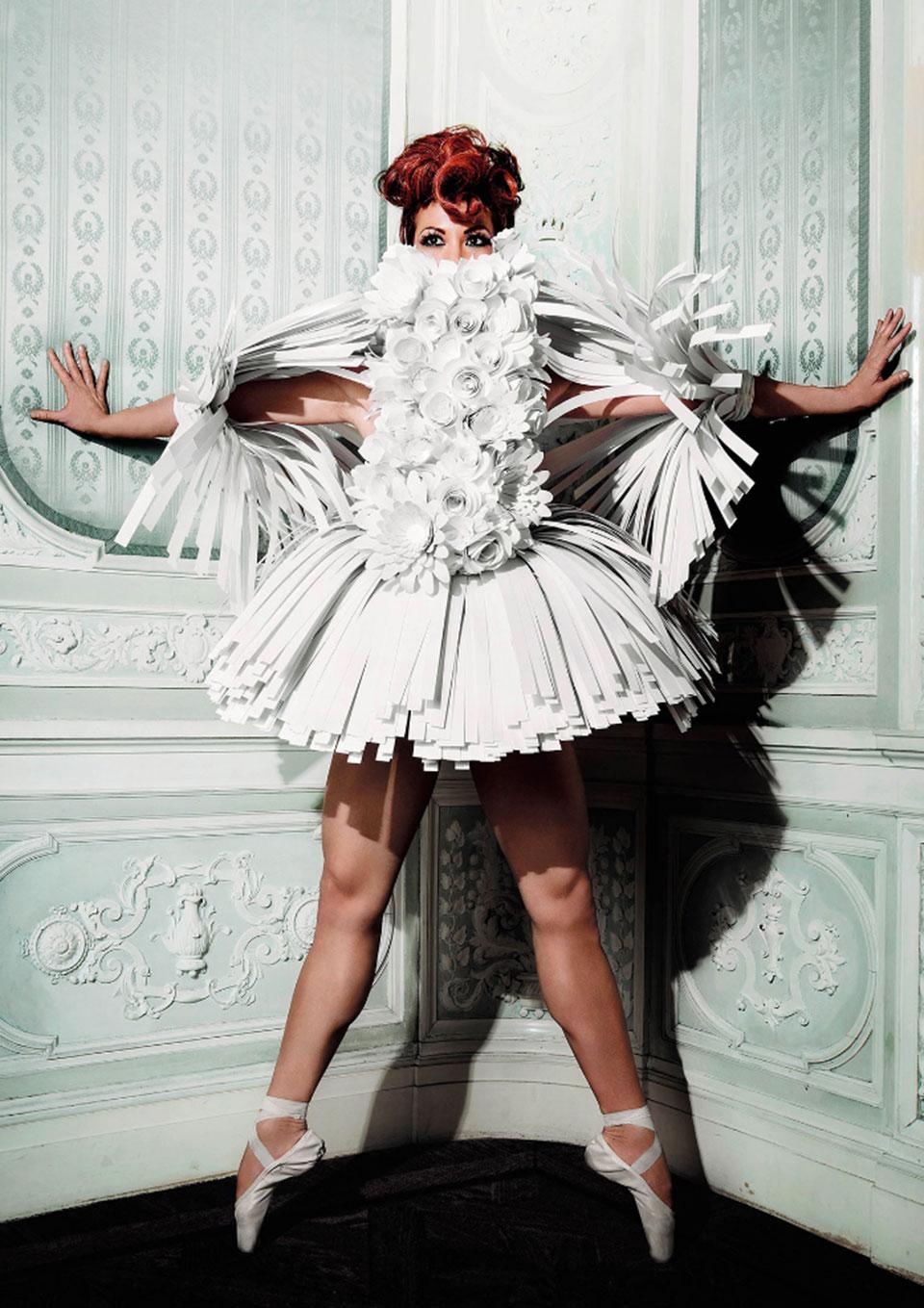 Proyecto Haute Papier - Bailarina1