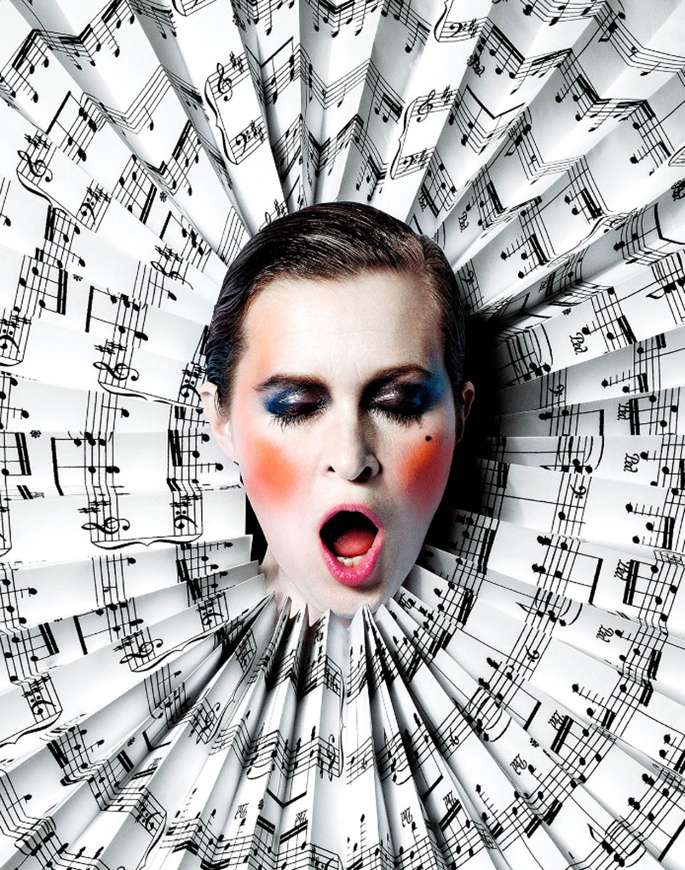 Haute Papier - bailarín música1