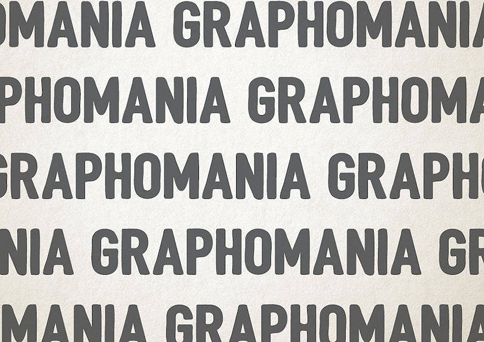 Esto es lo que pasa cuando la tipografía se transforma en trastornos mentales - graphomania