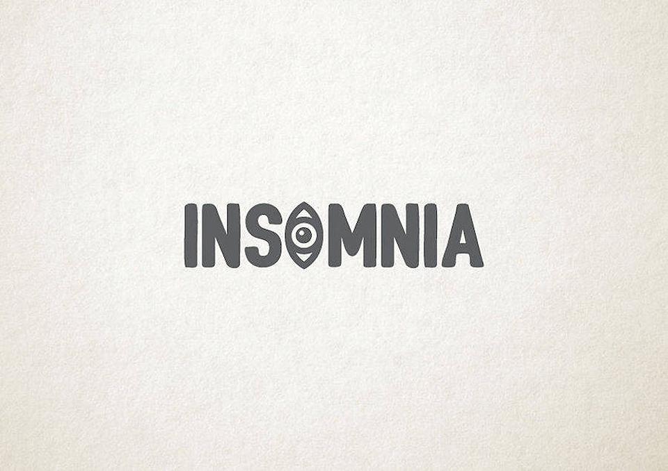 Esto es lo que pasa cuando la tipografía se transforma en trastornos mentales - insomnio