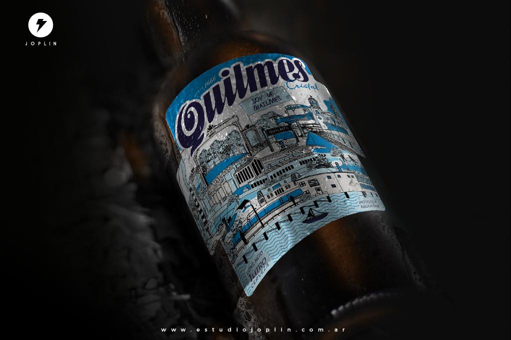 La cerveza Quilmes celebra 350 años de historia con un nuevo diseño de etiqueta - 1