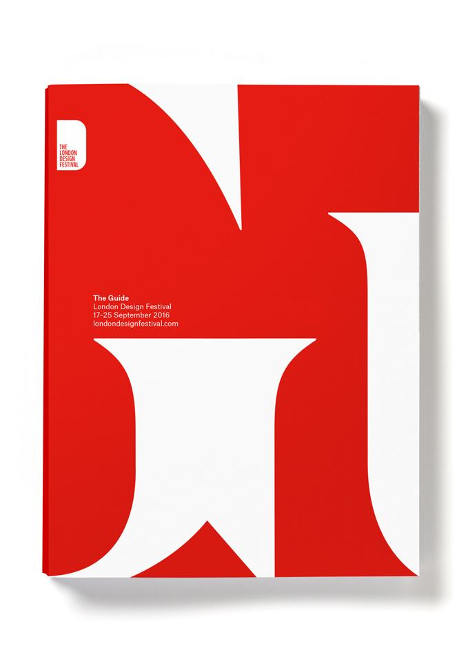 London Design Festival 2016 vuelve a inundar de rojo y blanco la ciudad - cartel