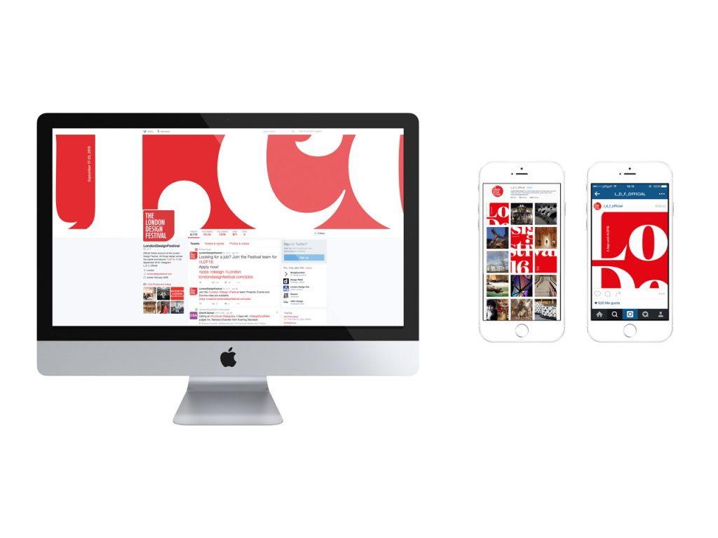 London Design Festival 2016 vuelve a inundar de rojo y blanco la ciudad- digital