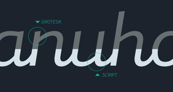 Mixa, la neogrotesca que mezcla la geometría y la caligrafía - geogrotesca y script