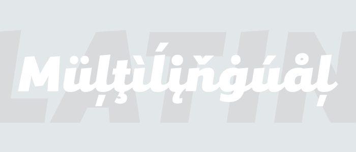 Mixa, la neogrotesca que mezcla la geometría y la caligrafía - fondo gris