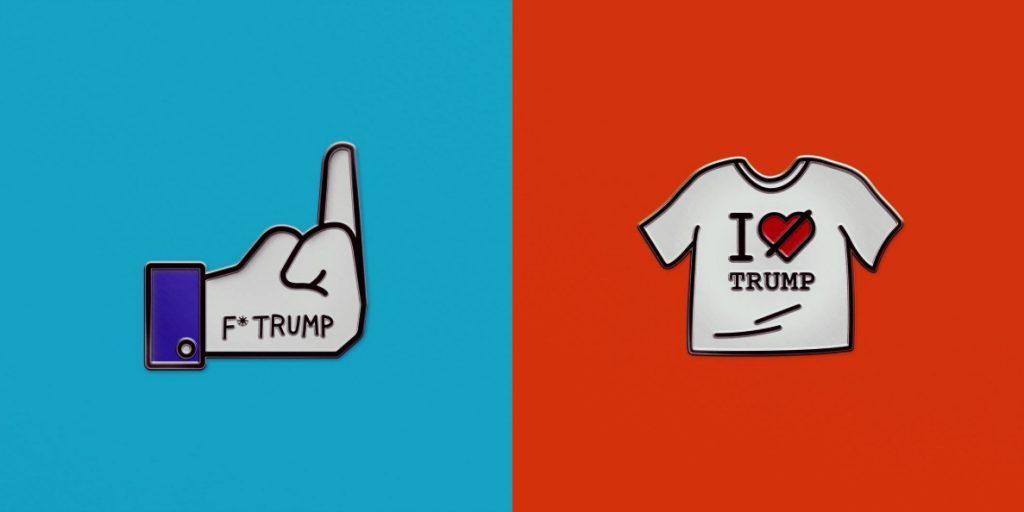 Sagmeister & Walsh la emprenden contra Trump con ilustraciones satíricas - 5