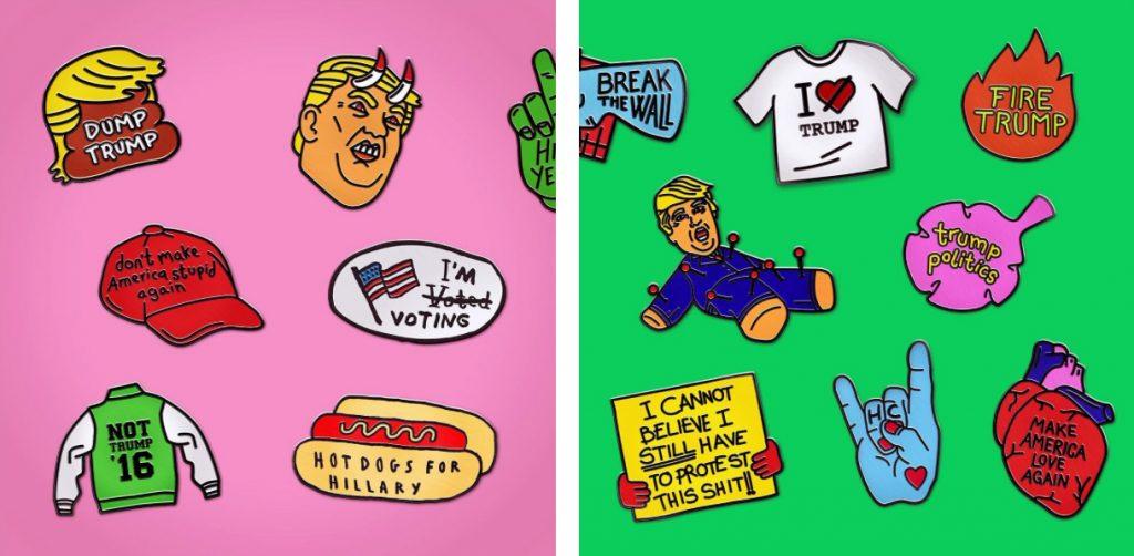 Sagmeister & Walsh la emprenden contra Trump con ilustraciones satíricas - 8