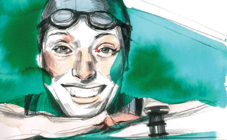 Teresa Perales, plata en 200 m libre en Río 2016, en versión cómic