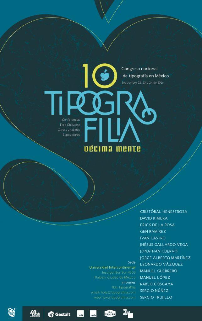Tipografilia 10, el congreso nacional de tipografía en México - 1