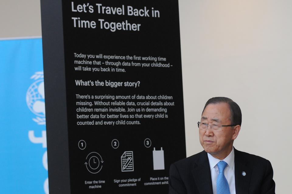 'Time Machine', la máquina del tiempo de Unicef que promete transportarte a la infancia - 16