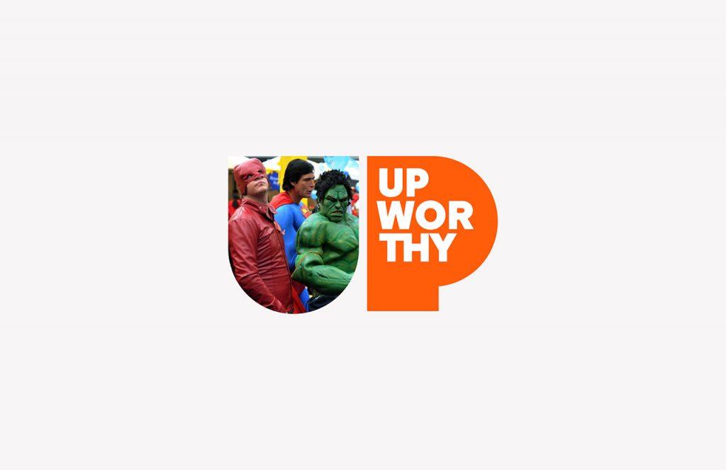 Upworthy o el optimismo en las redes - logotipo con imagen