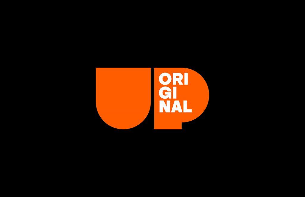 Upworthy o el optimismo en las redes - logotipo en fondo negro