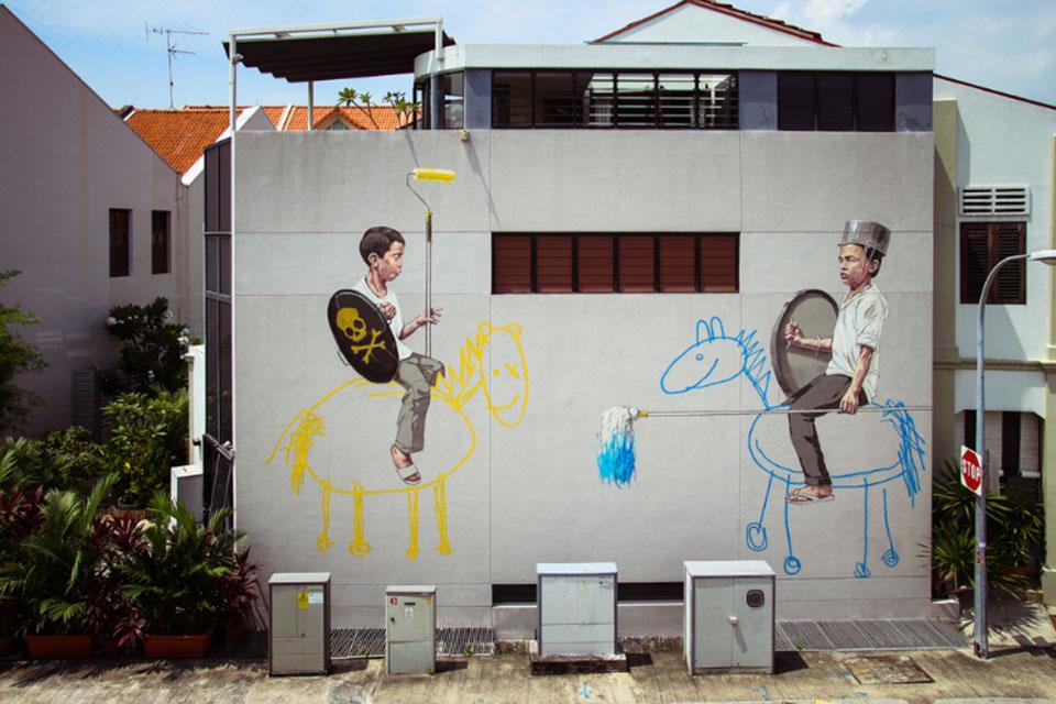 Zach - Street Art en Singapur1
