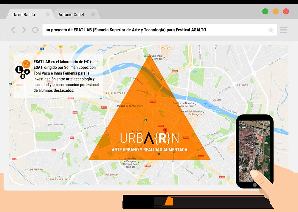 'URBA(R)N' (arte urbano y realidad aumentada)