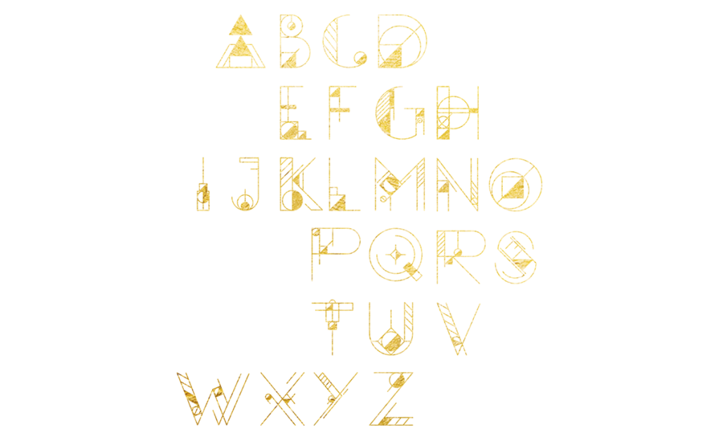 GEOM, la tipografía gratuita inspirada en la geometría pura y dura - 2
