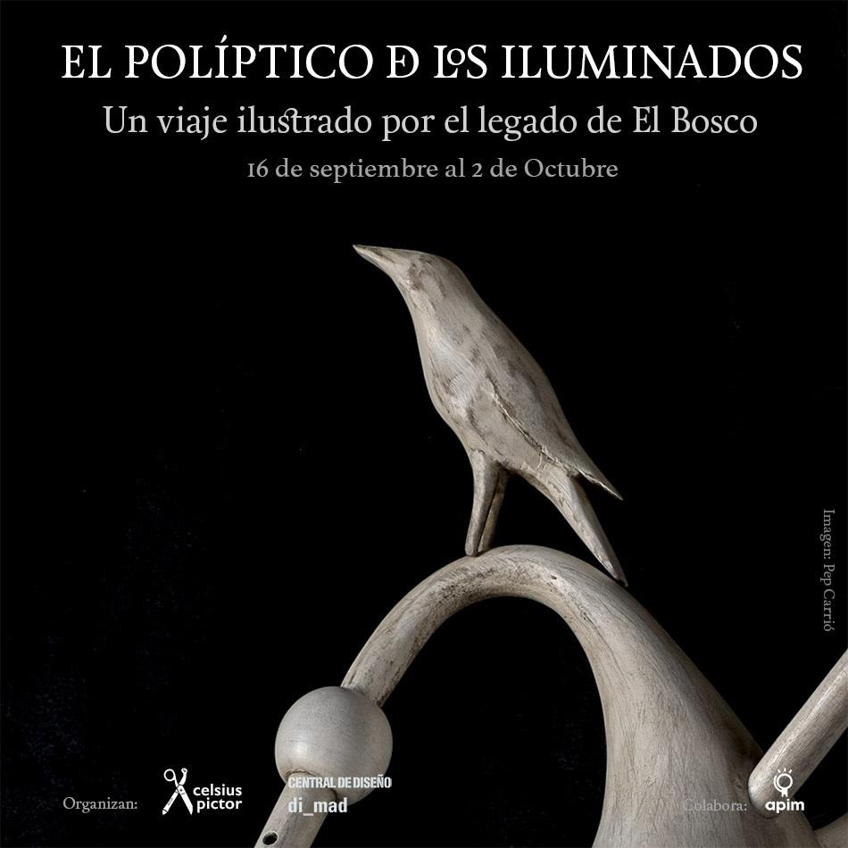 'El políptico de los iluminados. Un viaje ilustrado al legado de El Bosco'