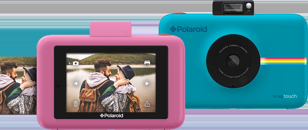 Polaroid Snap Touch, la cámara digital que imprime fotos instantáneamente