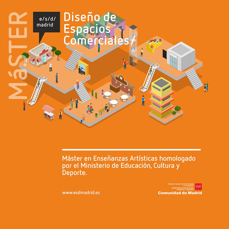 Si buscas máster de Diseño oficial y público en Madrid, estás de suerte - máster en Enseñanzas Artísticas en Diseño de Espacios Comerciales /Master in Art in Retail Design