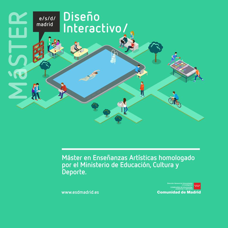 Si buscas máster de Diseño oficial y público en Madrid, estás de suerte - máster en Diseño Interactivo