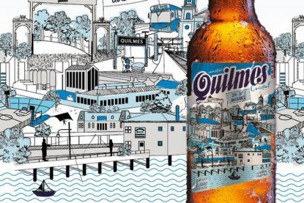 La cerveza Quilmes celebra 350 años de historia con un nuevo diseño de etiqueta