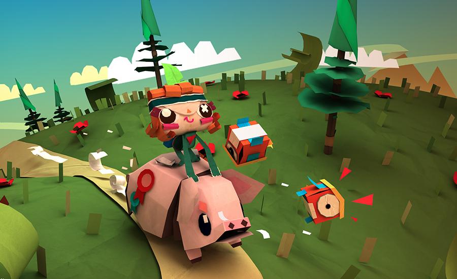 Tearaway es lo que ocurre cuando un fan del papercraft crea un videojuego - 5