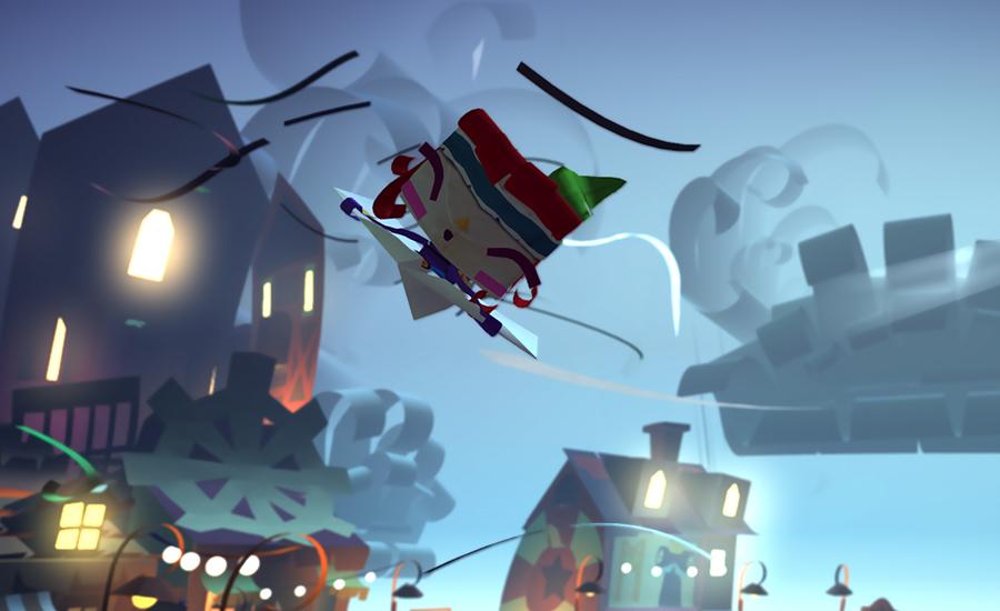 Tearaway es lo que ocurre cuando un fan del papercraft crea un videojuego - 2