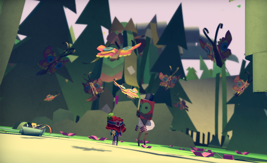 Tearaway es lo que ocurre cuando un fan del papercraft crea un videojuego - 4