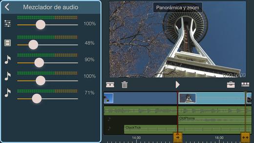 Pinnacle Studio para iPad