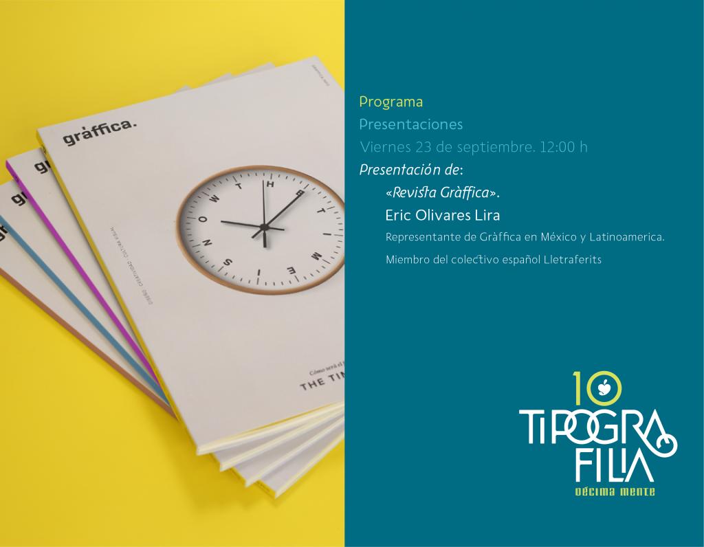Tipografilia 10, el congreso nacional de tipografía en México - 2