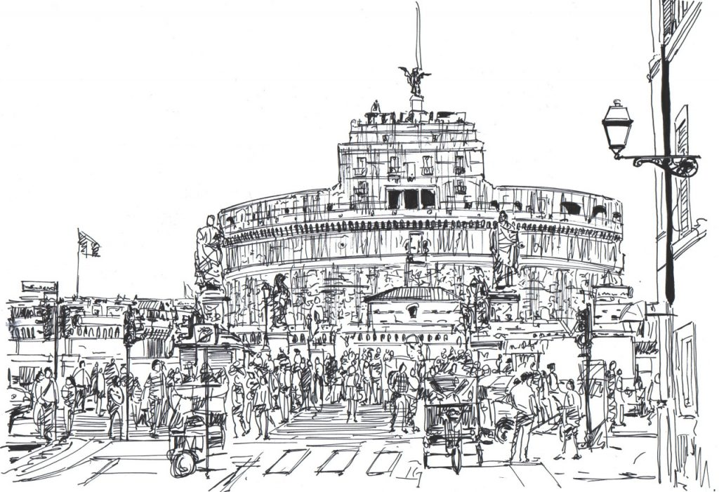 Así son las ciudades de tinta y papel dibujadas por una mente arquitectónica