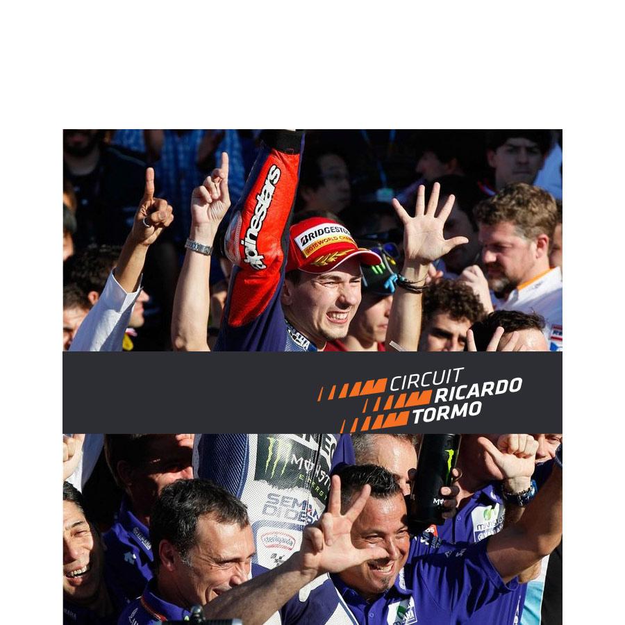 Pepe Gimeno crea la nueva imagen gráfica del Circuit Ricardo Tormo - 4