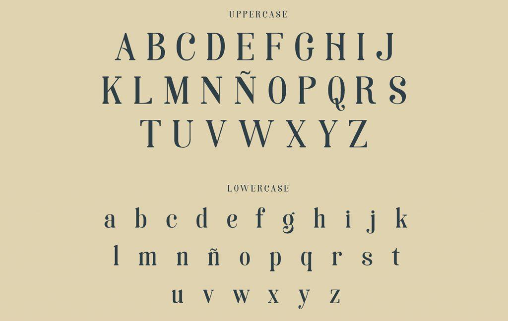 La tipografía Art Nouveau homenaje a la ciudad de Soria - 3