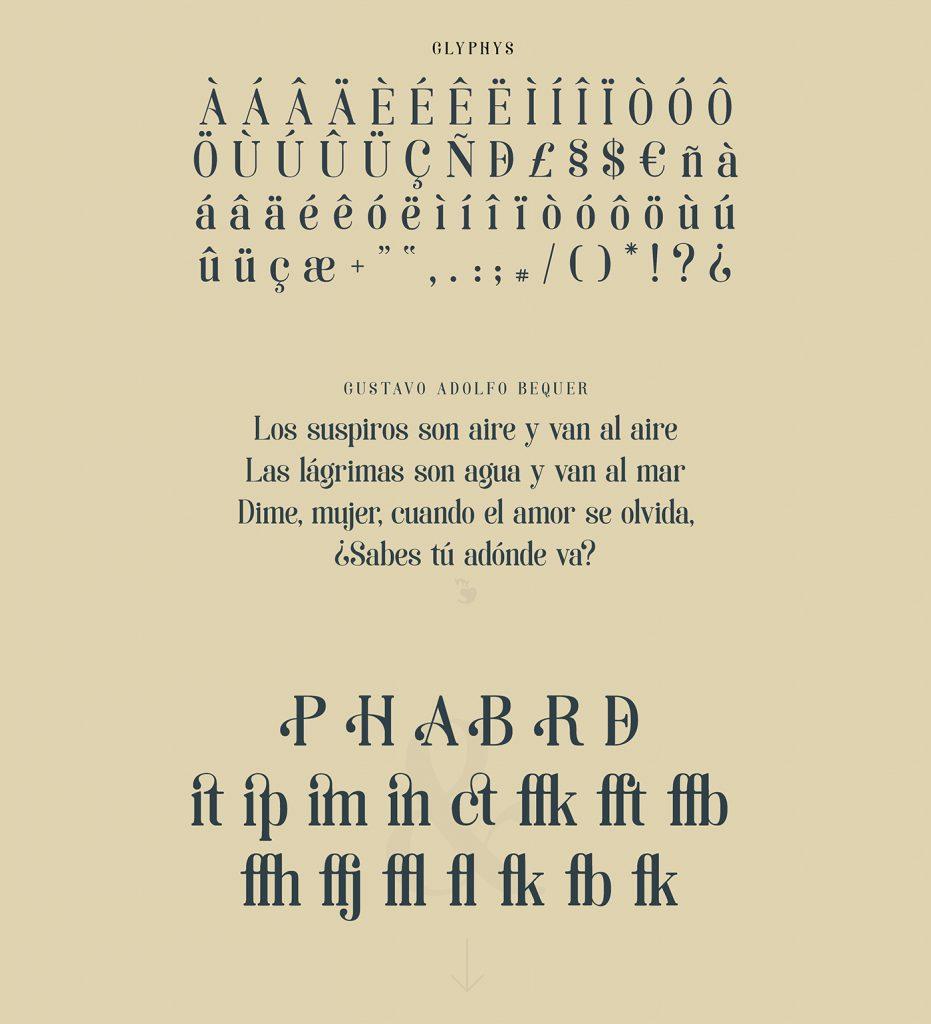 La tipografía Art Noveau homenaje a la ciudad de Soria - 5