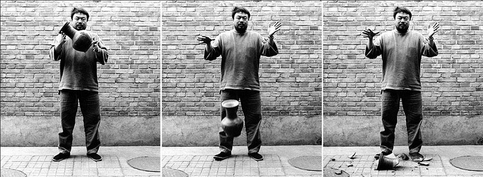 Ai Weiwei - Dejando caer una urna de la dinastía Han1
