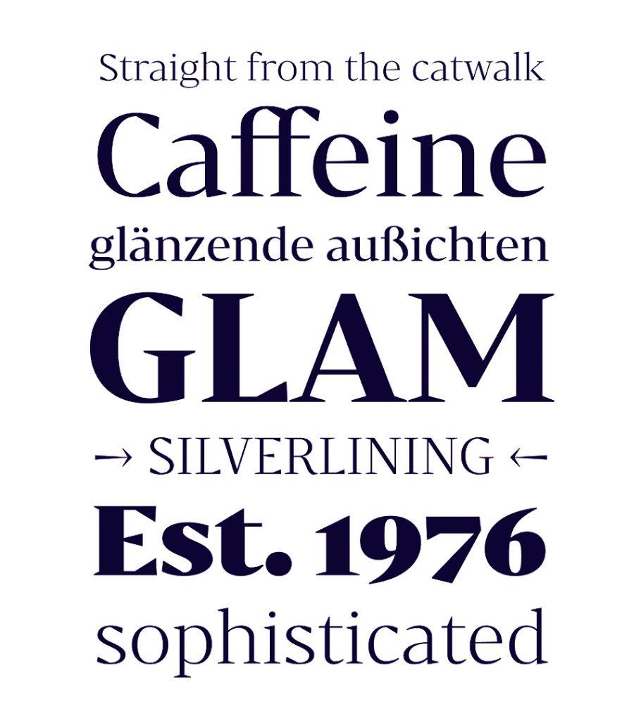 Bw Darius, la tipografía nacida de la tipografía de transición y la pidona - 9