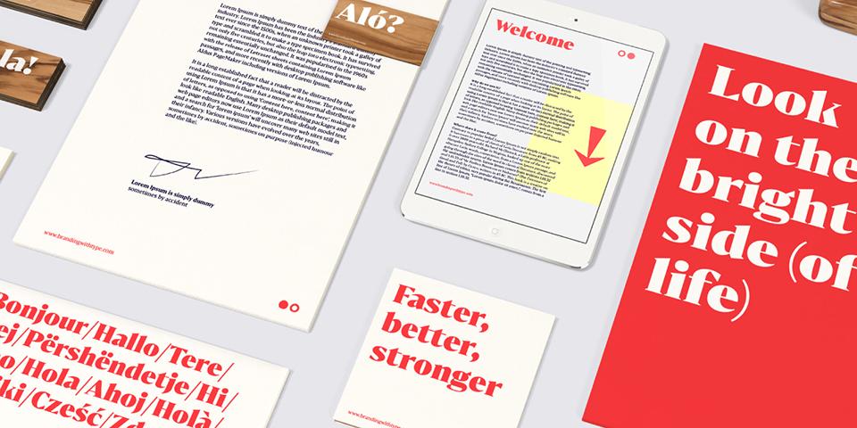 Bw Darius, la tipografía nacida de la tipografía de transición y la pidona - 4