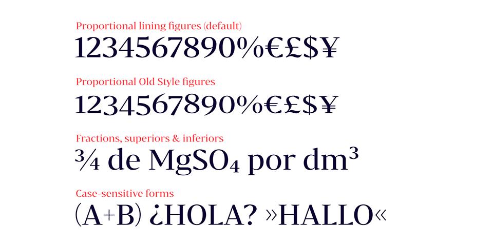 Bw Darius, la tipografía nacida de la tipografía de transición y la pidona - 2