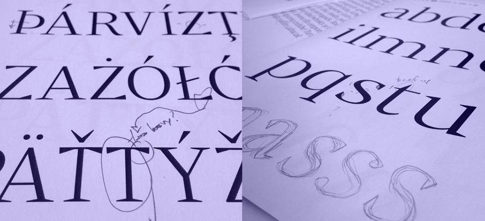 Bw Darius, la tipografía nacida de la tipografía de transición y la pidona .- 12
