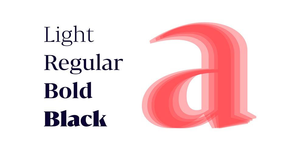 Bw Darius, la tipografía nacida de la tipografía de transición y la pidona - 5