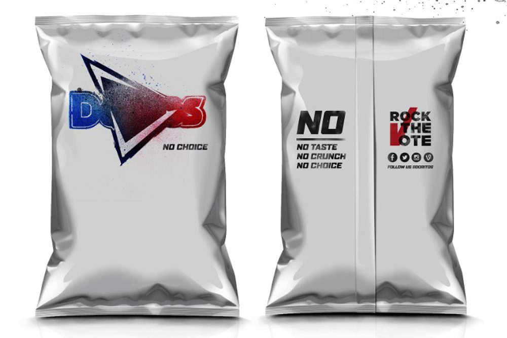 Doritos anima a los estadounidenses a votar con un packaging 'fake' - Boldest Choice - 2