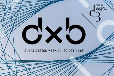 Dubai Design Week 2016, 6 días inmersos en diseño en tierras orientales