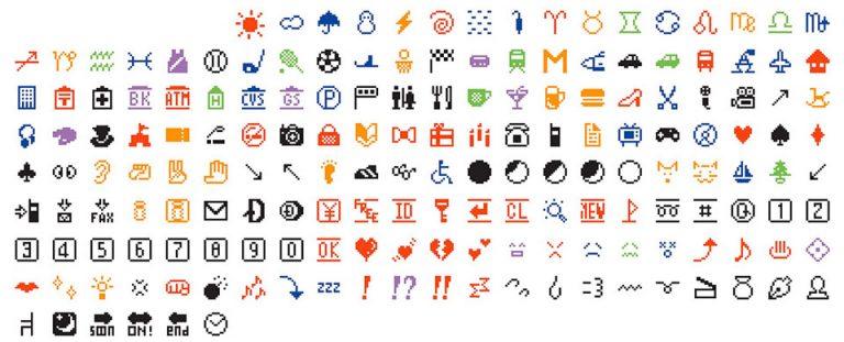 Emojis originales (1999)1