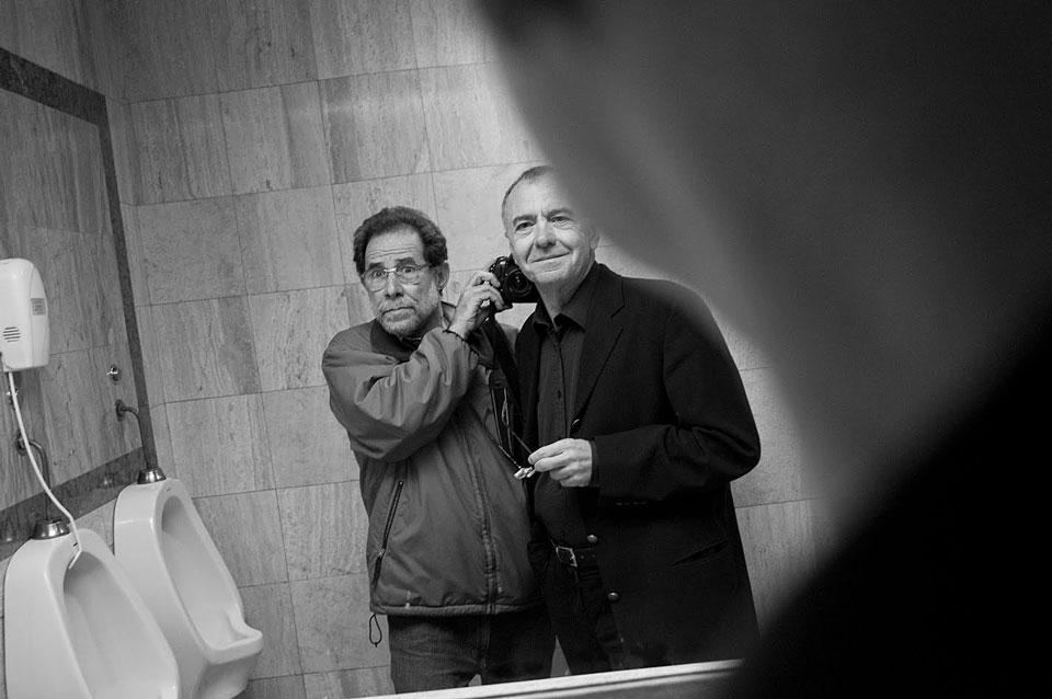 Vasco Szinetar, el fotógrafo a la caza de selfies con grandes figuras de la cultura - 4