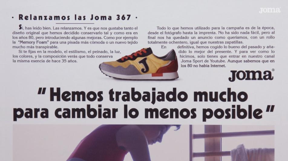 joma 367 anuncio