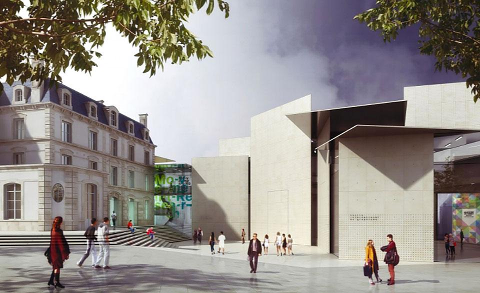 Le Signe, el primer Centro Nacional de Diseño Gráfico en Francia - 2