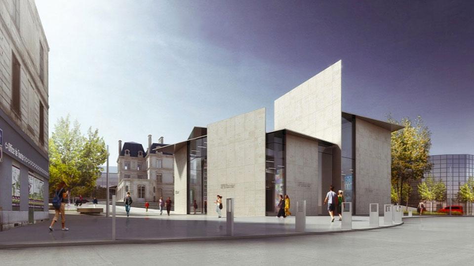 Le Signe, el primer Centro Nacional de Diseño Gráfico en Francia - 4