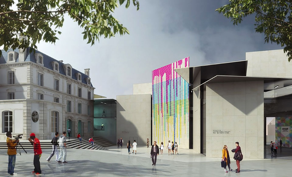 Le Signe, el primer Centro Nacional de Diseño Gráfico en Francia - 6