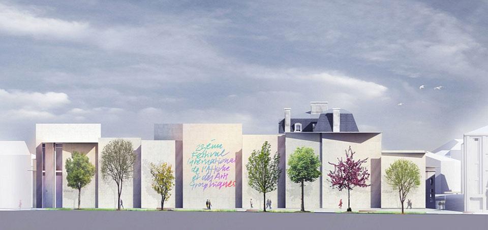 Le Signe, el primer Centro Nacional de Diseño Gráfico en Francia - 7
